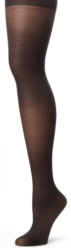 Hanes Silk Reflections Women's Alive Full Support Control Top Pantyhose, Jet, C