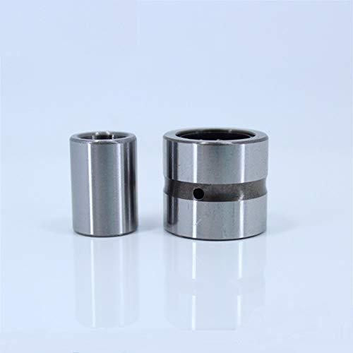 Replacement Bearing, NKI5/12 Needle Roller Bearing 51512 mm (5 PC) Solid Collar Needle Roller Bearings with Inner Ring Bearing NKI 5/12