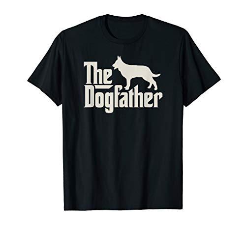 The Dogfather Deutscher Schäferhund Hundepapa T-Shirt