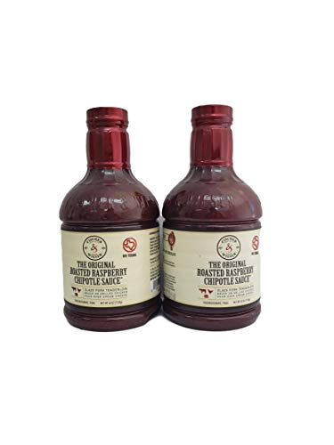 Fischer & Wieser Razzpotle Roasted Raspberry Chipotle Sauce, TWO 40-Ounce Bottles