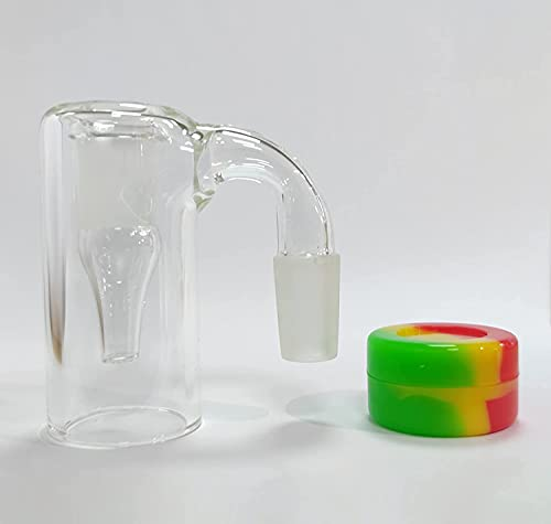 ZWW Lab Scientific Freeze Dry Flasks, Reclaim Catcher Can be Reused (14MM 90DEGREE)