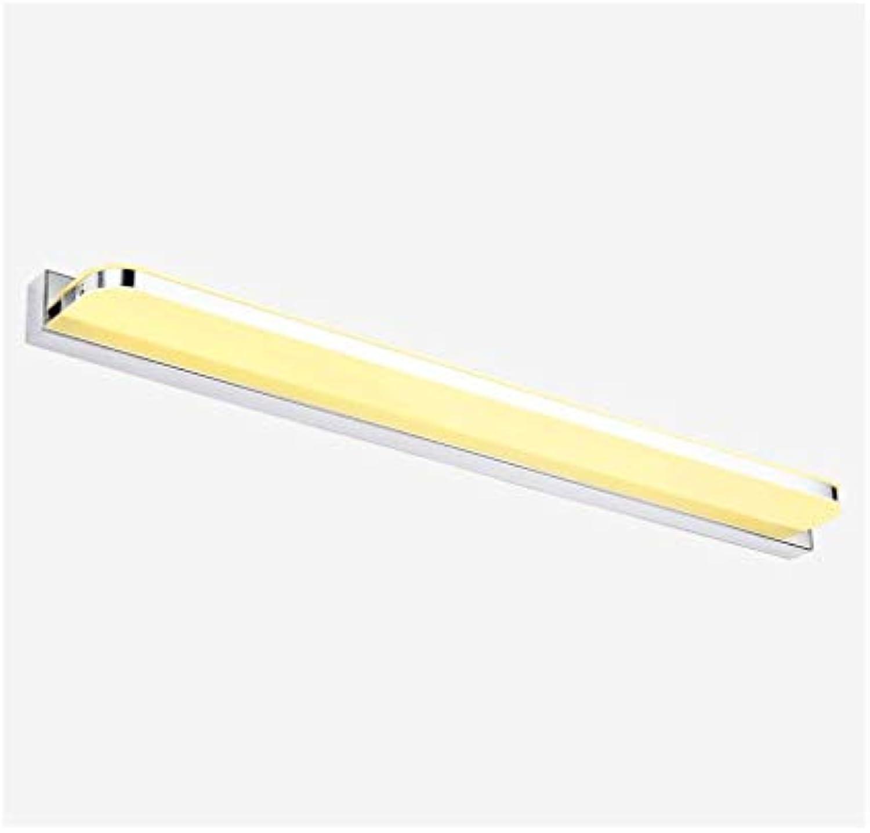 William 337 Spiegel Frontleuchte Acryl LED-Licht Badezimmer Wandleuchte - (42-110cm) [Energieklasse A +] (Farbe   Warmes licht-14W 62cm)