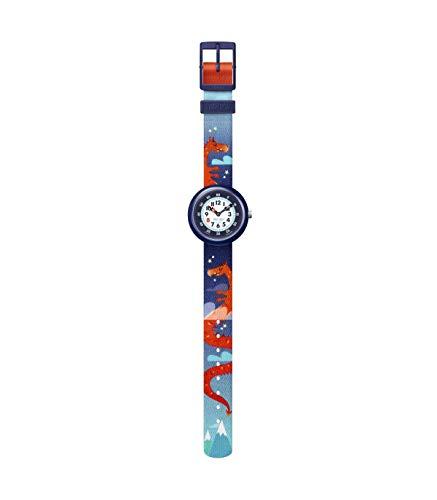 Flik Flak Quartz Montre avec Bracelet en Plastique FBNP144