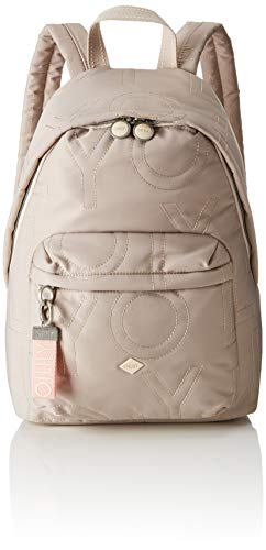 Oilily Damen Spell Backpack Lvz Rucksack, Grau (Light Grey), 14.5x40.0x28.0 cm