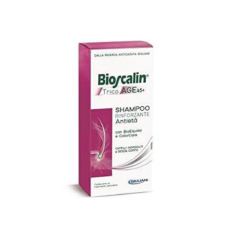 Offerta Bioscalin TricoAge 45+ 3X Shampoo Rinforzante da 200ml - Anticaduta e Antietà