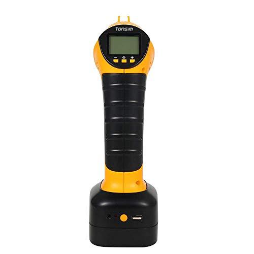Pompe de compresseur d'air avec l'affichage numérique et les lumières de LED, la Banque de puissance intégrée parfaite pompe de véhicule de poche pour la voiture Airboat airbed