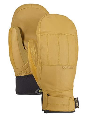 Burton Men's Gore-Tex Gondy Leather Mitt, Raw Hide, Medium