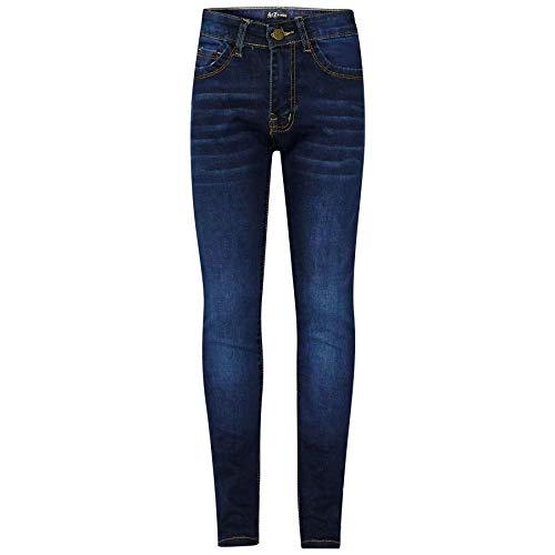 A2Z 4 Kids A2Z 4 Kids® Kinder Mädchen Dünn Jeans Designer Denim - Girls Jeans JN25 Dark Blue 5-6