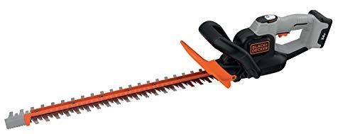 Black+Decker 54V DualVolt Akku-Heckenschere, Heckenschneider, Powercommand Antiblockierfunktion, Bügelhandgriff (60cm Schwertlänge, 19mm Schnittstärke - ohne Akku und Ladegerät) GTC5455PCB