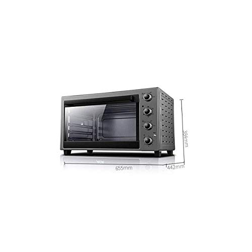 31fjdSeO5 L - Wghz Pizzaofen Brotbackmaschinen, Elektroofen Backen Multifunktional Automatik 60 Liter Großraum Multifunktionsfrühstück Sandwich Elektroofen