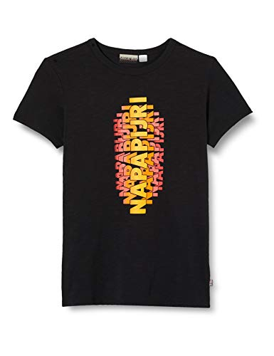 NAPAPIJRI K SALY T-Shirt, Nero (Black 0411), 122 cm Bambino