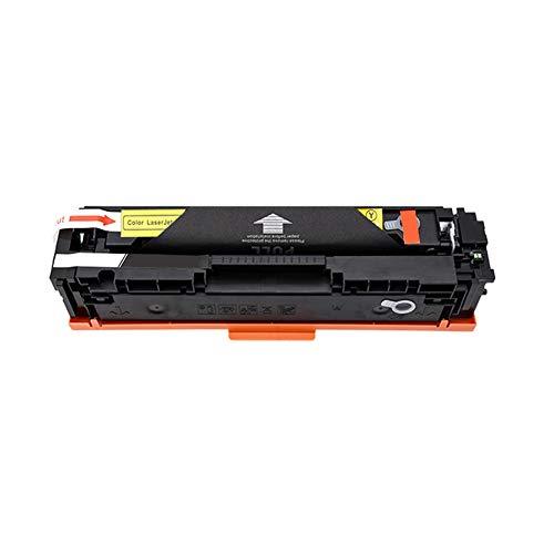 Reemplazo de cartuchos de tóner compatibles para HP 205A CF530A para HP Color Laserjet PRO M154a M154nw M180n M181fw Impresora láser con chips-yellow