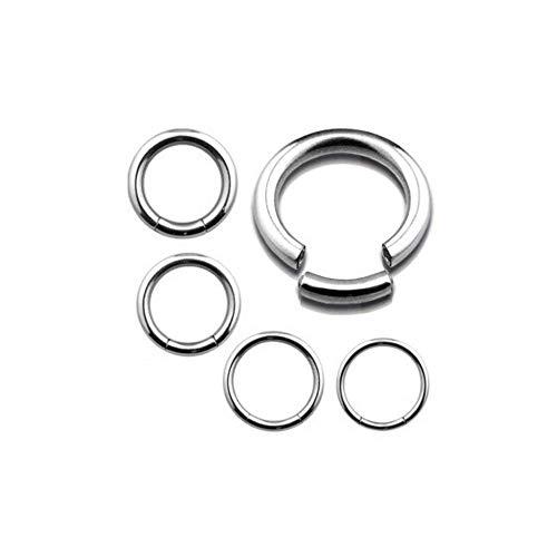 Titan Ring Piercing SEGMENTRING Septum Helix Schmuck Damen Herren Ohr Piercings