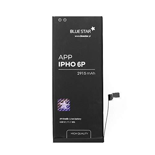 Blue Star Premium HQ - Batería de Li-Pol litio 2915 mAh de Capacidad Carga Rapida 2.0 Compatible con iPhone 6 Plus - Larga Duración