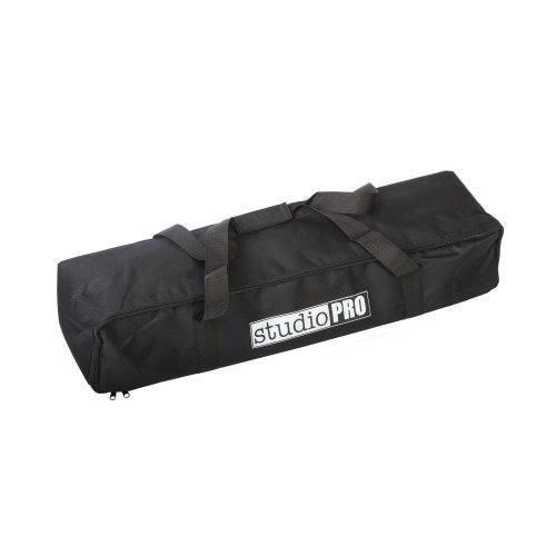 "Fovitec - 1x Photography & Video Lighting Equipment Carrying Case - [30"" x 8"" x 6""][Lightweight][Heavy Duty Durable Nylon][Dual Zippers]"