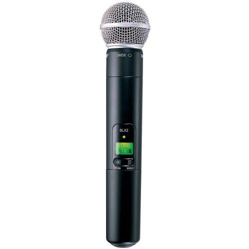 Shure SLX2/SM58 Wireless Handheld Microphone Transmitter