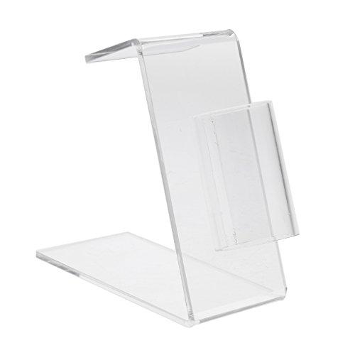 Gazechimp Acrylique Stand Support Porte Machine à Tatouer Pistolet/Tube/Tip Holder Stand Supply 3/4\