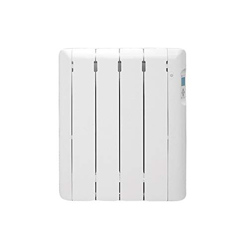 Haverland RC4ECO - Emisor térmico fluido, sensor de presencia, termostato digital programable, ideal uso +6h/día, estancias hasta +/- 8 m², 500W
