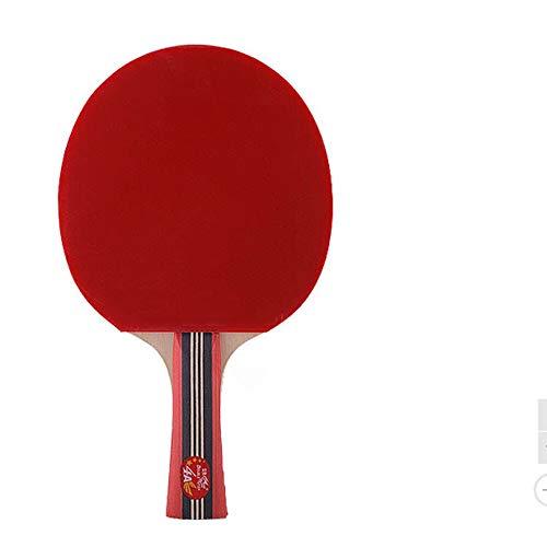 Los murciélagos de tenis de mesa Disparo Tabla raqueta de tenis individual 4A ping-pong Shot Ping Raqueta de competencia horizontal Formación Hijos Adultos 15x25cm Shot Para los adultos de los
