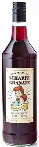 Scharfe Granate - Das Original - Granatapfel-Chili-Likör - Mit 18% Alkohol - 1000 ml