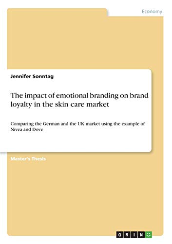 The impact of emotional branding on brand loyalty in the skin care market: Comparing the German and the UK market using the example of Nivea and Dove