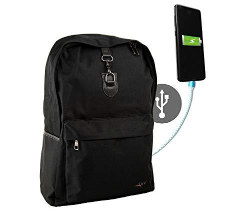 Airel Sac à Dos antivol | Sac a Dos USB | Sac a Dos pour Ordinateur Portable | Sac a Dos Antivol USB | Sac a Dos de Voyage | Sac a Dos Urbain…