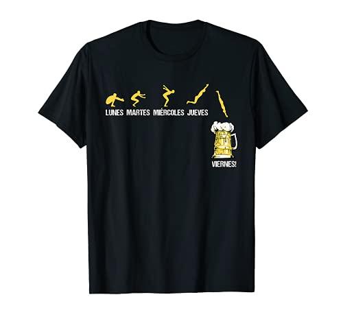 Cerveza Lunes Martes Miércoles Jueves Viernes Regalo Camiseta