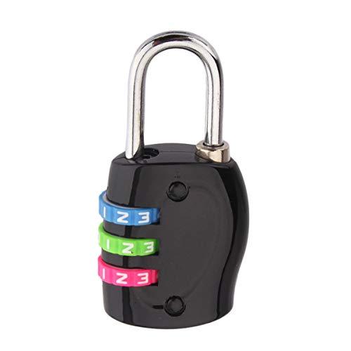 HaiQianXin 3-cijferige wijzerplaat combinatie wachtwoordslot koffer bagage gecodeerde slot kast kast kast hangslot