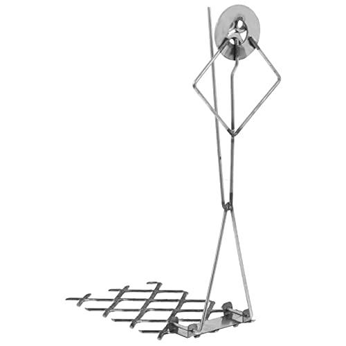 Yardwe Asador de malvaviscos de metal para perros calientes con forma de campamento de fuego para asar en forma de palillo reutilizable de hierro para barbacoas al aire libre