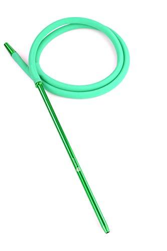 Mata Leon Juego de manguera de silicona y boquilla, SSS200, color verde
