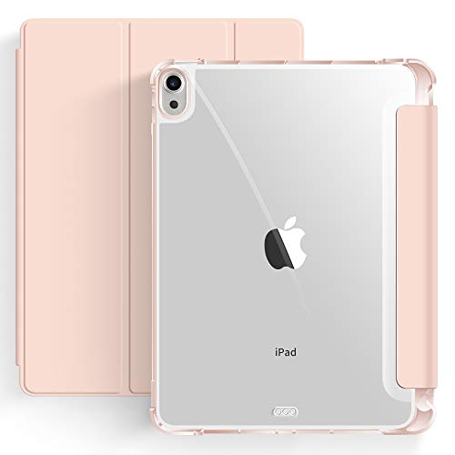 Capa iPad Air 4a Geração 10.9″ WB - Ultra Leve Auto Hibernação Antichoque Rosa