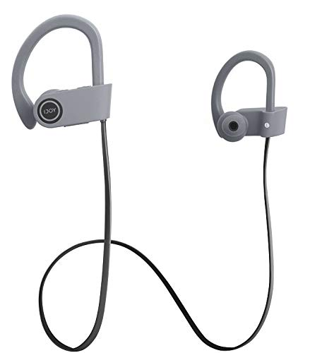 IJOY Future Sport Wireless Waterproof Bluetooth Headset, Dark Gray (Pack of 2)