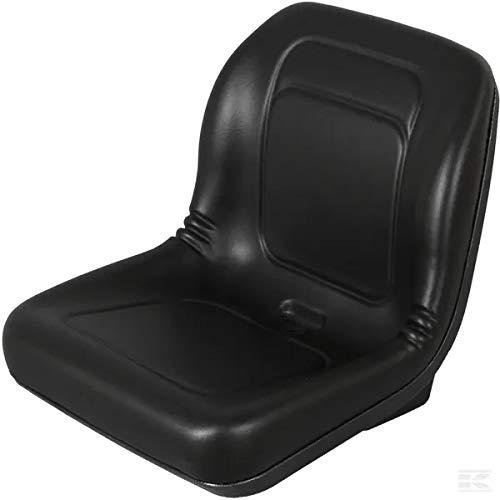 Traktor Sitz schwarz PVC 462 x 545 mm GOPART