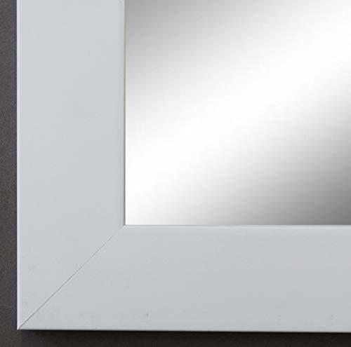 Online Galerie Bingold Spiegel Wandspiegel Badspiegel - Florenz Weiß 4,0 - handgefertigt - 200 Größen zur Auswahl - Modern - 50 x 50 cm