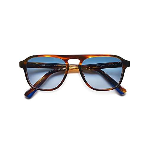 Etnia Barcelona Gafas de Sol RODEO DRIVE SUN STRIPED BROWN/BLUE SHADED HD hombre