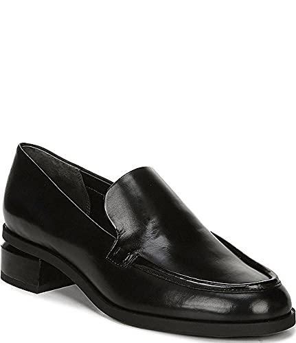 [フランコサルト] シューズ 27.5 cm スリッポン・ローファー New Bocca Leather Block Heel Loafers Black レディース [並行輸入品]