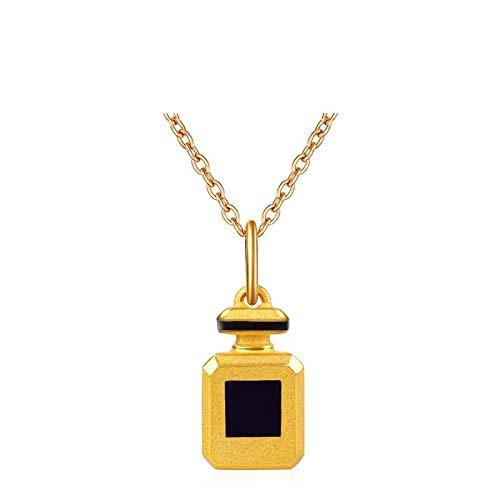 Personaje de la moda colgante de oro macizo imitación botel