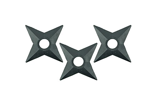 Naruto Anime Shuriken 3 Piece Set