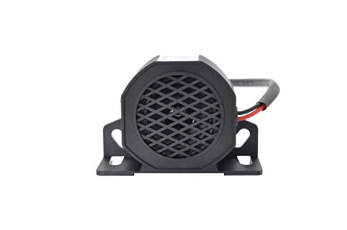 Yuesonic 102dB White Noise Backup Alarm Rückfahrwarner mit für 12/24V Fahrzeuge