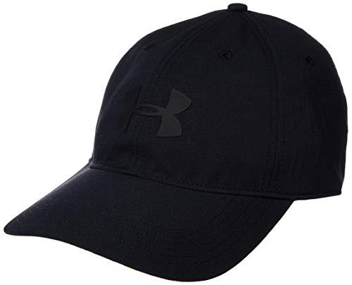 Under Armour Baseline Cap, Casquette Respirante à Visière, Casquette au Look Sportif, Homme, Noir (Black/Black (001)), Taille Unique