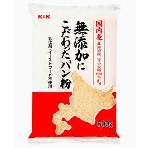 旭トラストフーズ 国内麦無添加にこだわったパン粉 500g×10袋