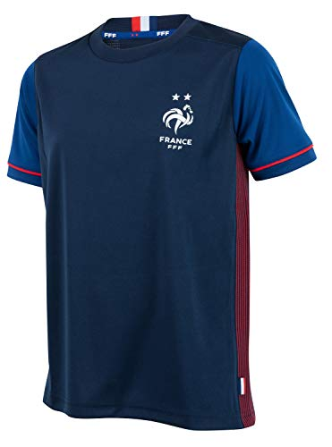 Equipe de FRANCE de football Maillot FFF - 2 étoiles - Collection Officielle Taille Homme L