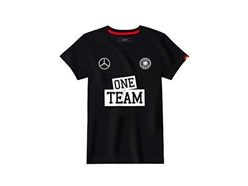 Mercedes-Benz - Camiseta de manga corta - para niño negro 116