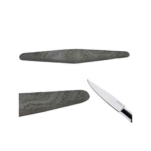 LAGUIOLE Pietra naturale dei Pirenei, per affilare i coltelli
