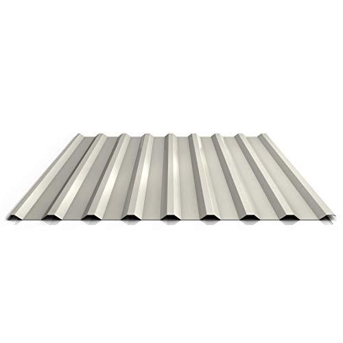 Trapezblech   Profilblech   Dachblech   Profil PS20/1100TR   Material Stahl   Stärke 0,50 mm   Beschichtung 25 µm   Farbe Reinweiß