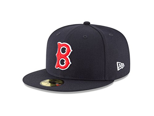 New Era 59Fifty Hat Boston Red Sox Cooperstown 1946 Wool Navy Blue Fitted Cap (7)