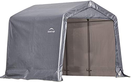 ShelterLogic 8' x 8' Shed-in-a-Box All Season...