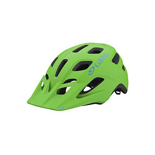 Giro Tremor MIPS Youth Visor MTB Bike Cycling Helmet - Universal Youth (50-57 cm), Matte Bright Green (2021)