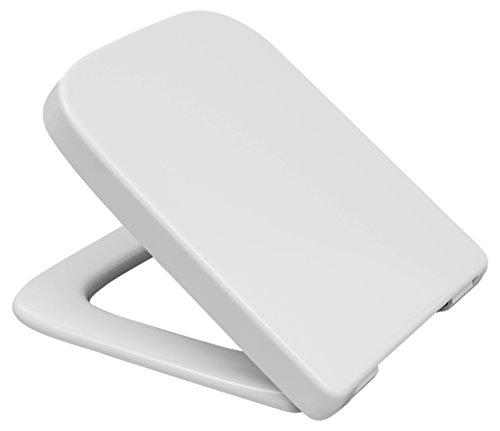 Hamberger 531554 WC-SitzMakira SoftClose,mit Edelstahl-Bügelscharnier B0302Y weiß