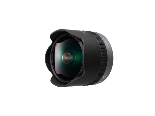 PANASONIC LUMIX G FISHEYE Lens, 8MM, F3.5, MIRRORLESS Micro Four Thirds, H-F008 (USA Black)